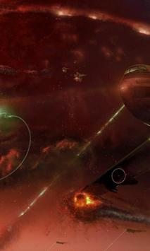 Space Battle Live Wallpaper screenshot 2