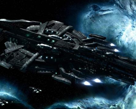 Space Battle Live Wallpaper screenshot 3