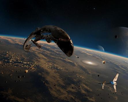 Space Battle Live Wallpaper screenshot 4