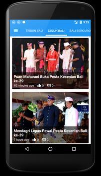 Bali Update - Berita Bali apk screenshot