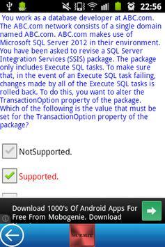 MS MCSE Business Intelligence screenshot 4