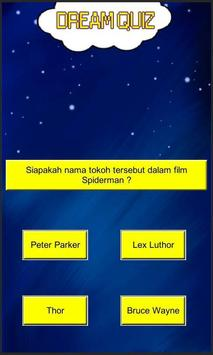 Dream Quiz apk screenshot