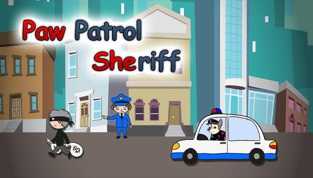 The Sheriff Puppy Patrol poster