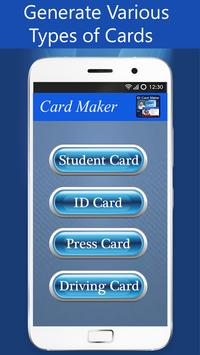 Fake ID Card Maker – Card Making App poster