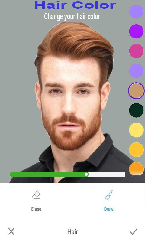 Men Photo Editor Handsome Abs Hairstyle Beard For Android Apk