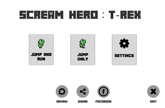 Scream T-Rex to go screenshot 15