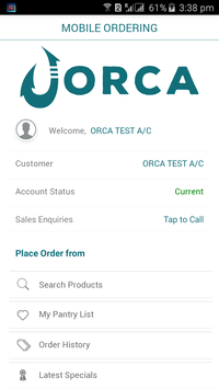 ORCA screenshot 2