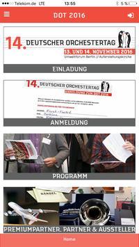 Deutscher Orchestertag poster