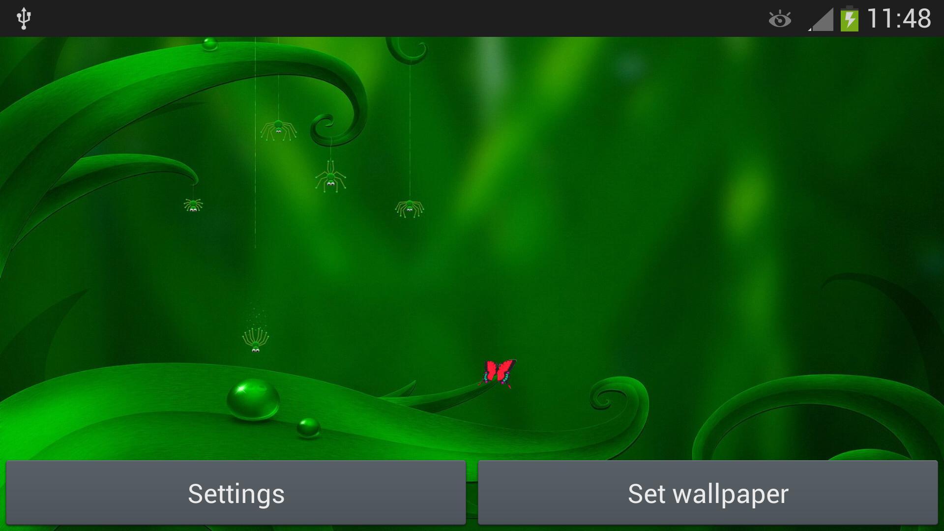 Android 用の 緑のライブ壁紙 Apk をダウンロード