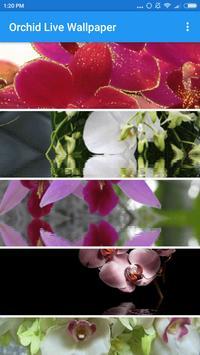 Orchid Live Wallpaper screenshot 1
