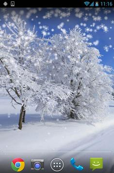 Winter Snow Live Wallpaper poster