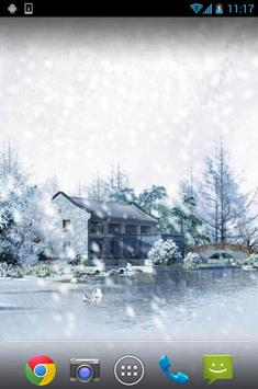Winter Snow Live Wallpaper apk screenshot