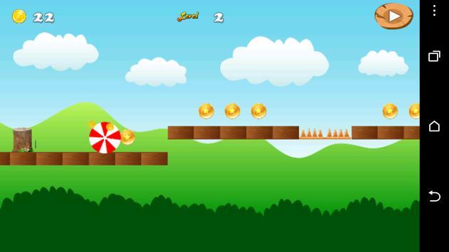 Bouncy Ball Runner apk screenshot