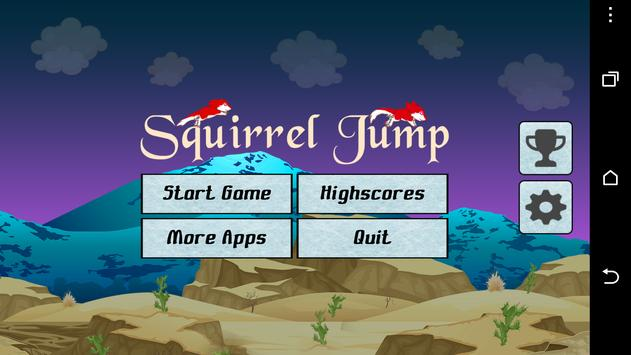 Squirrel Jump poster
