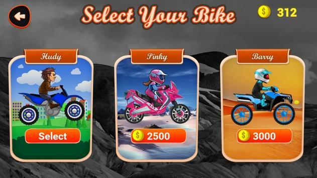 Hill Climb Motor Bike Racing apk screenshot