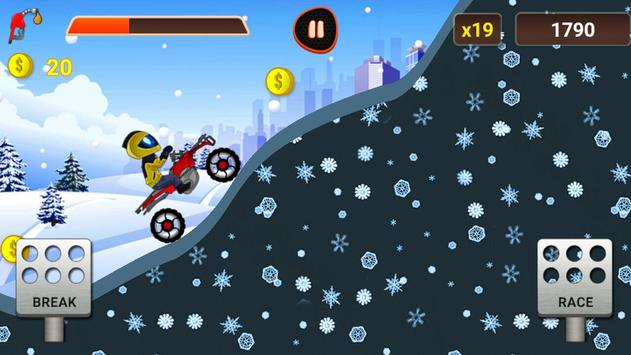Hill Climb Motor Bike Racing apk screenshot