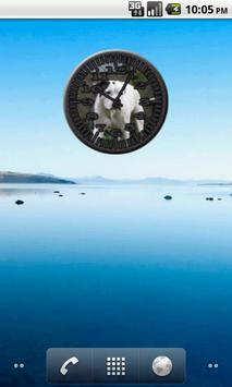 Dog 8 Bulldog Analog Clock screenshot 1