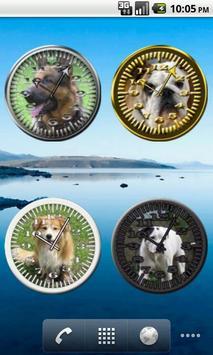 Dog 8 Bulldog Analog Clock screenshot 2