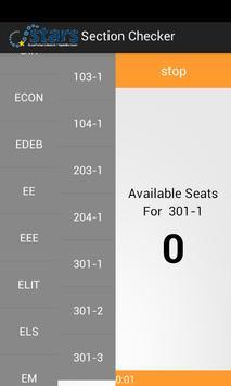 Bilkent Section Check apk screenshot