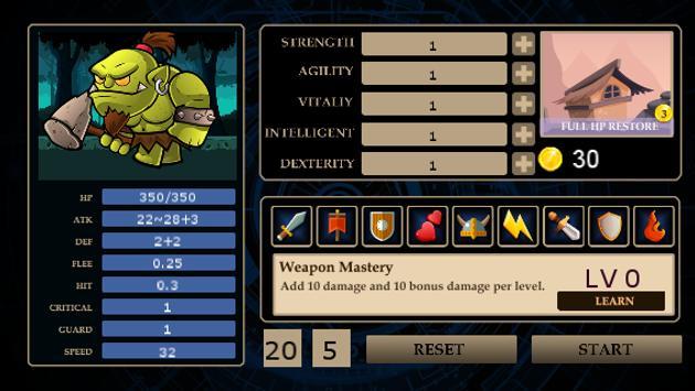 Orc Warrior apk screenshot
