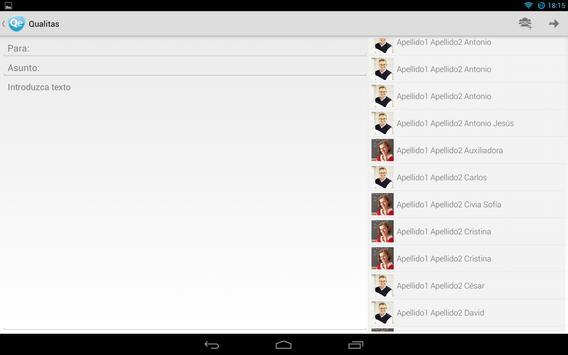 Qualitas apk screenshot