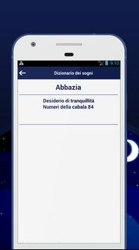 Dizionario dei sogni apk screenshot