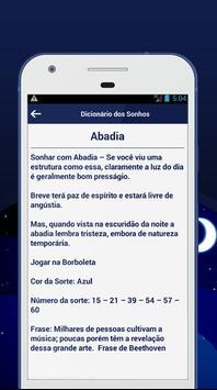 Dicionário dos Sonhos screenshot 2