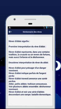 Dictionnaire des rêves apk screenshot