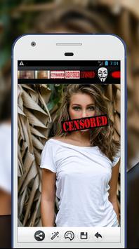Censored Photo Editor screenshot 1