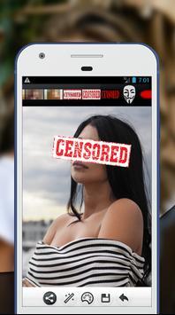 Censored Photo Editor screenshot 3