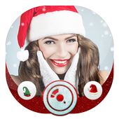 Christmas Santa Cap & Hat Photo Editor icon