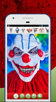 Scary Clown Face Photo Editor screenshot 3