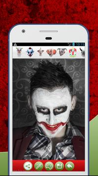 Scary Clown Face Photo Editor poster