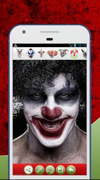 Scary Clown Face Photo Editor screenshot 1