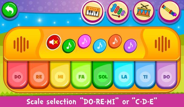 Piano Crianças - Música e Canções apk imagem de tela