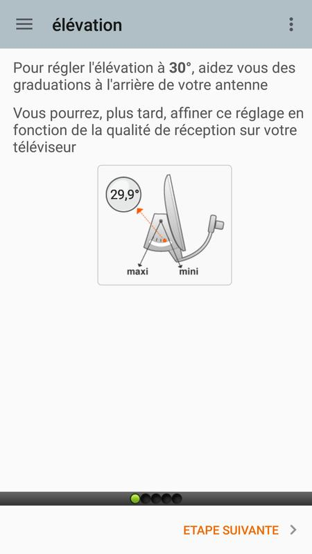 r glage parabole apk download free tools app for android. Black Bedroom Furniture Sets. Home Design Ideas