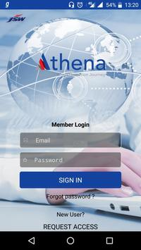 Project Athena poster