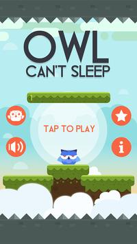Owl Can't Sleep! poster