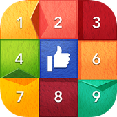 Sliding Puzzle with Facebook icon