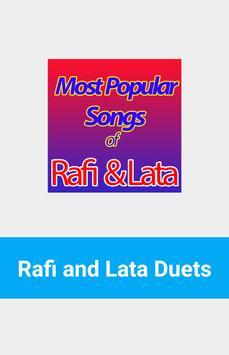 Rafi and Lata Duet Hits poster