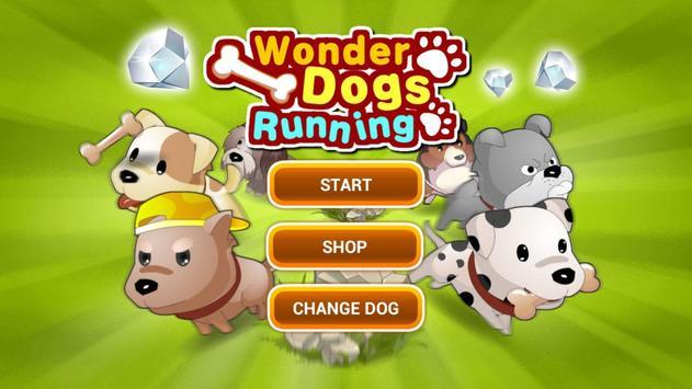 Wonder Dogs Running poster