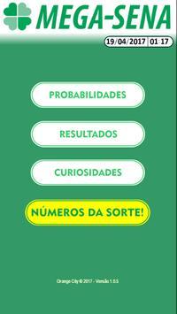 MEGASENA Número da Sorte! poster