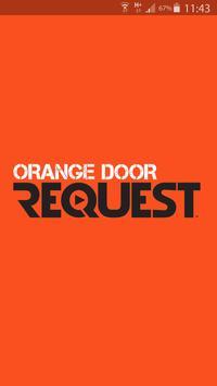 Orange Door Request poster