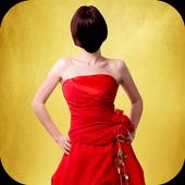 Hot Girl Long Fashion Photo Frames icon