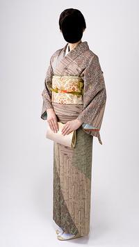 Japan Women Kimono Dress Photo Frames screenshot 1