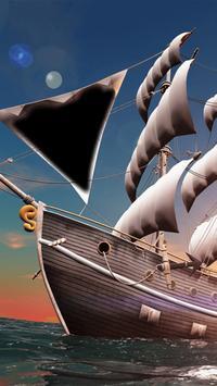 Pirate Ship Hoarding Photo Frames screenshot 1