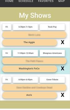 FoCo Gorilla Music (FoCoMX Schedule) screenshot 2