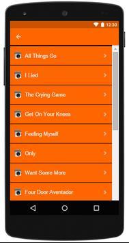 Nicki Minaj Complete Lyrics apk screenshot