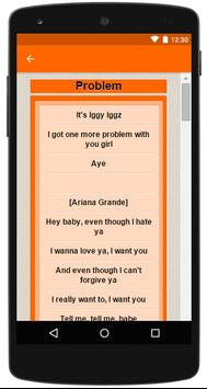 Ariana Grande Complete Lyrics apk screenshot