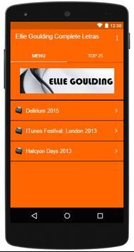 Ellie Goulding Complete Letras poster